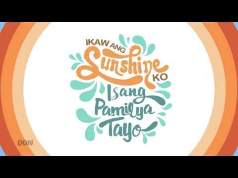 Ikaw Ang Sunshine ko (abs cbn summer station id 2017)  recreated using After Effects