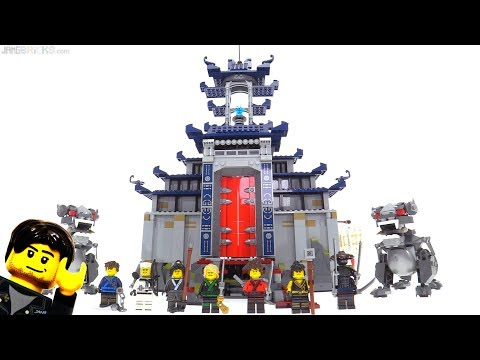 LEGO Ninjago Movie Temple of the Ultimate Ultimate Weapon review! 70617