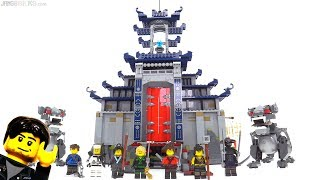 Video LEGO Ninjago Movie Temple of the Ultimate Ultimate Weapon review! 70617 download MP3, 3GP, MP4, WEBM, AVI, FLV November 2017