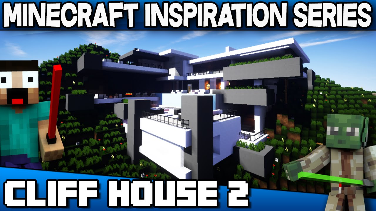 Cliff House 22 - Minecraft Inspiration Series with Keralis
