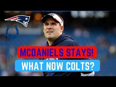Josh Mcdaniels STAYS in New England | NFL News Feb 6 2018 | Colts Fooled?