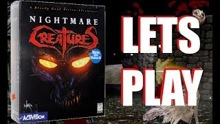 LETS PLAY/REVIEW - NIGHTMARE CREATURES 1 - PC