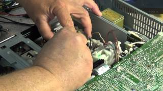 Sony Betamax video head replacement