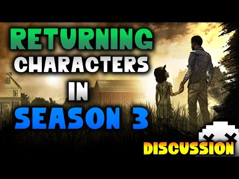 Walking Dead Returning Characters in Season 3 Discussion [Telltale]