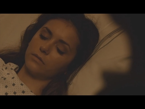 The Vampire Diaries: 6x22 - Elena at the hospital with Damon, Kai comes in [HD]