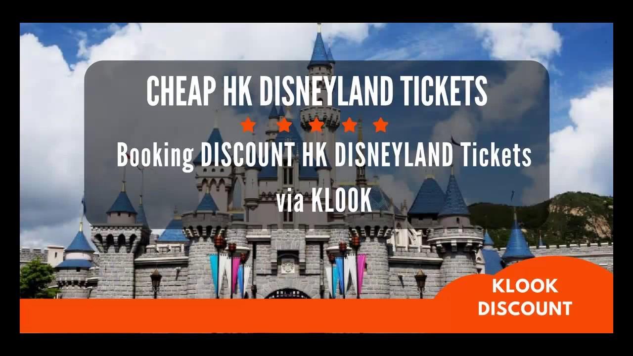 Klook Hong Kong Disneyland [DISCOUNT TICKETS]: Booking