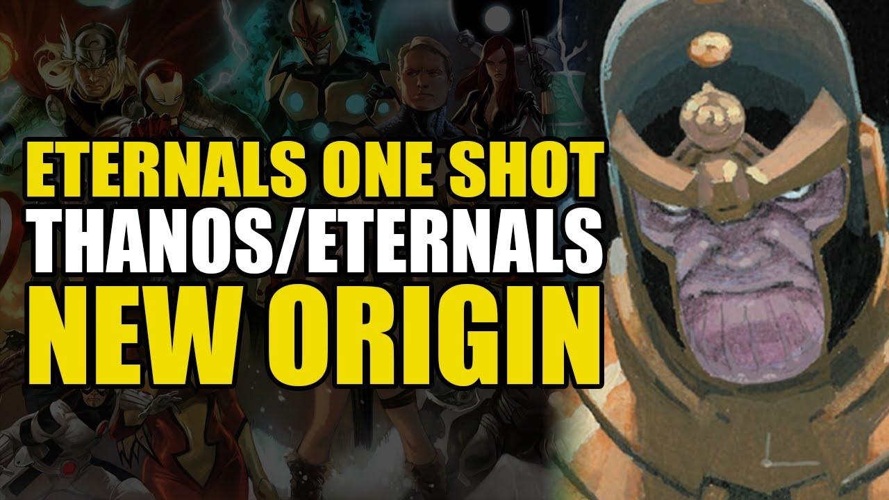 Thanos/Eternals New Origin: Eternals One Shot Thanos Rising | Comics Explained