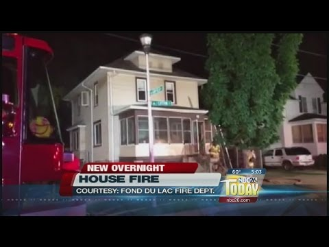 Electrical Problems May Be Cause in Fond Du Lac House Fire