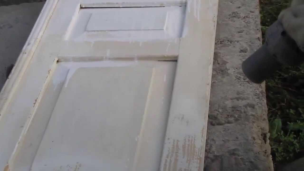 Покраска межкомнатных дверей. Акриловой краской. (Канадка). Видео .