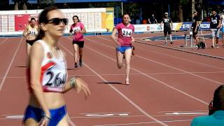 Чемпионат России. бег 400 метров, женщины. Финал - паралимпийцы