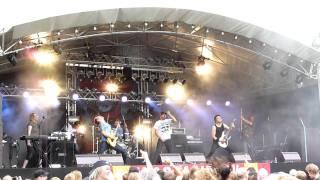 Medeia - Devouring (live, Ilosaarirock 2011)