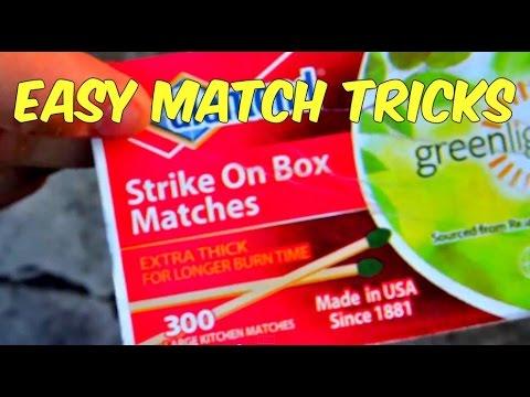 How to do cool match tricks