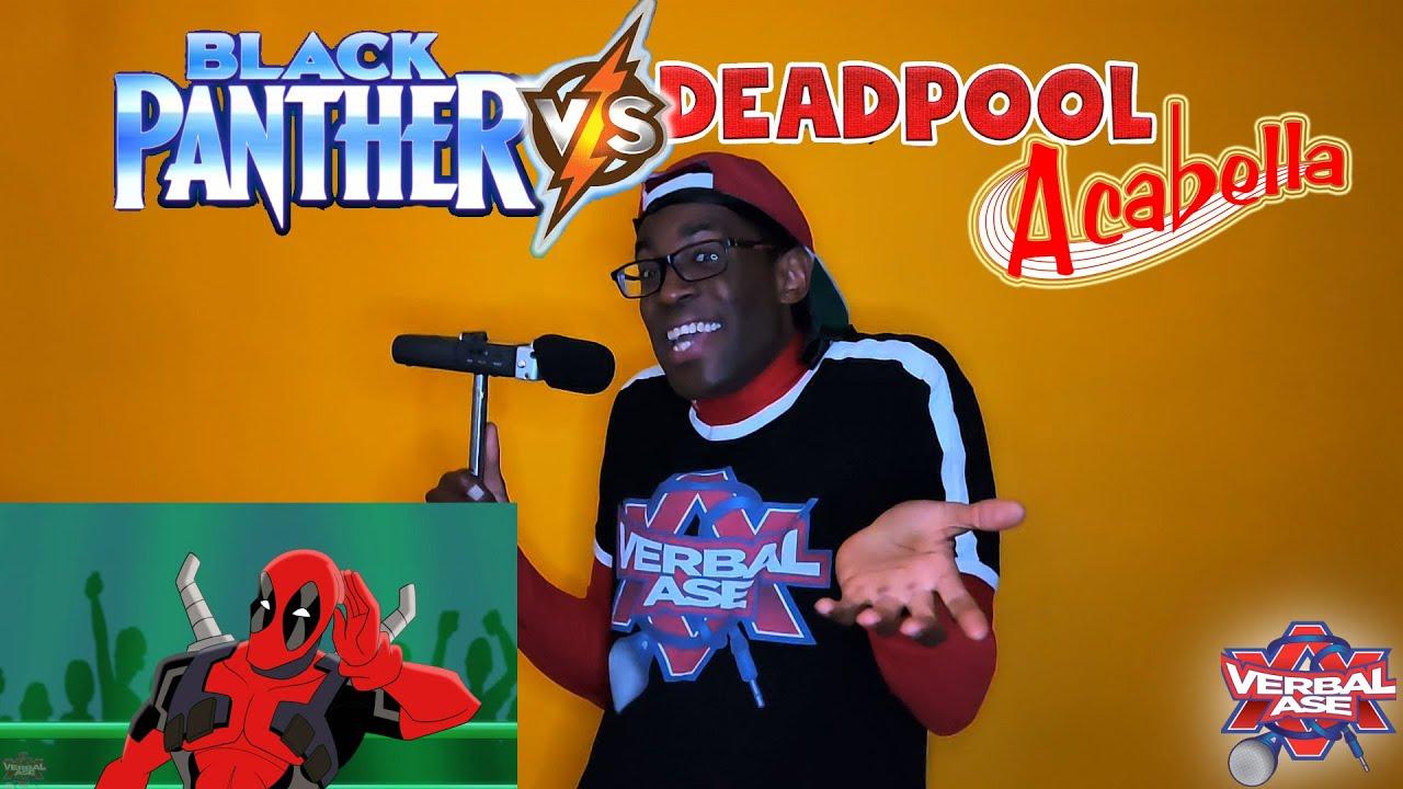 Black Panther Vs Deadpool Live - Cartoon Beatbox Battles