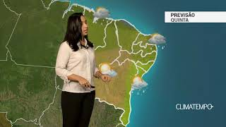 Previsão Nordeste – Chuva frequente em Fortaleza