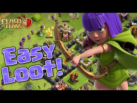 FARM LOOT FAST & EASY | TH10 MAX GOLD & ELIXIR | Clash of Clans