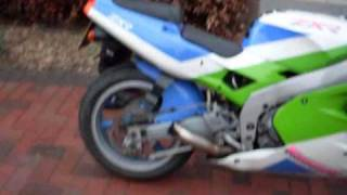 kawasaki zxr 400 without exhaust