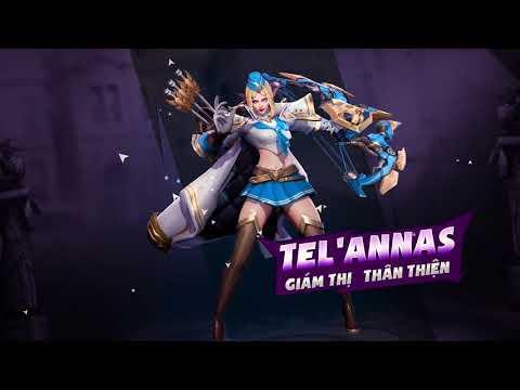[Trang phục] Tel'Annas Giám thị thân thiện - Garena Liên Quân Mobile