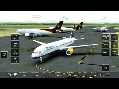Infinite Flight Boeing 757-200.Multiplayer.TNCM-TFFR.Carribean