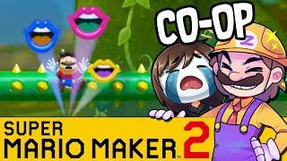 Die besten Mario Spieler aller Zeiten! | SUPER MARIO MAKER 2 Coop
