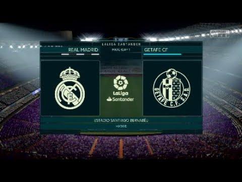 Fifa19 Realmadrid Career Mode : La Liga Matchday 1 Realmadrid Vs Getafe @Estadio Santiago Bernabeau