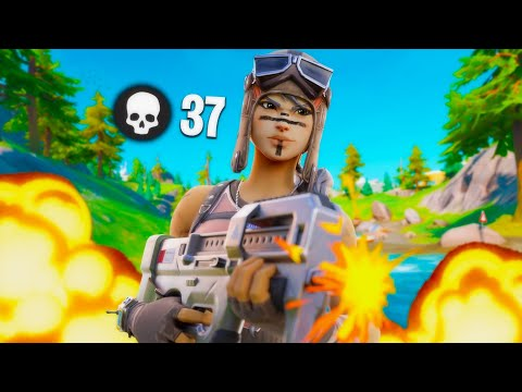 INSANE 37 KILL SOLO SQUAD ON CONTROLLER (Record) Chapter 2 Fortnite