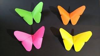 Origami Mariposa de Papel Facil y Rápido -  Easy Paper Butterfly Origami