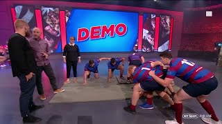 Rugby Tonight Demo | How was the Pick and Go changed?