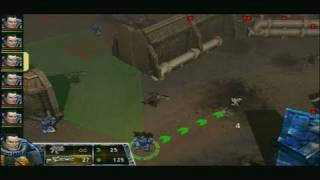Warhammer 40,000: Squad Command Sony PSP Gameplay - Early