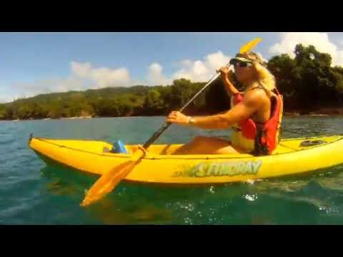 Kayaking Vanuatu and Benjor Beach Club
