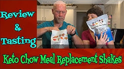 Review and giveaway of Keto Chow meal replacement shakes