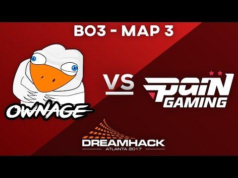 Dreamhack Atlanta CLOSED Qualifier | OWNAGE vs PaiN Gaming Map 3