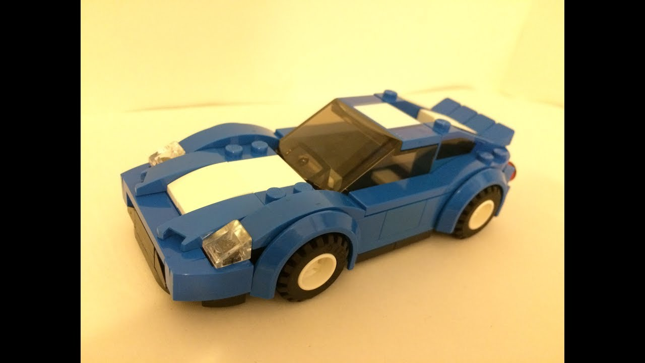 How to Build a LEGO Car | Custom MOC Speed Build
