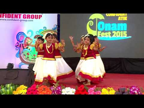 Ponnonam..   Kids Group Dance - Confident ATIK Onam Fest 2015
