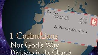 1/22/2017; 1 Corinthians- Not God's Way:  Divisions in the Church; Rev. Mark Martin; abridged