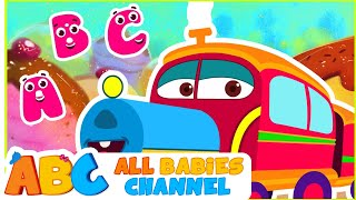abc train song   abc song for children   popular nursery rhymes   all babies channel