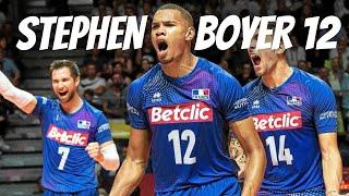 ステファン・ボイエ Stephen Boyer | Opposite Hitter of France | Massive Spike