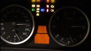 BMW E60  5 SER ES  ТЕСТ ПРИБОРНОЙ ПАНЕЛИ.