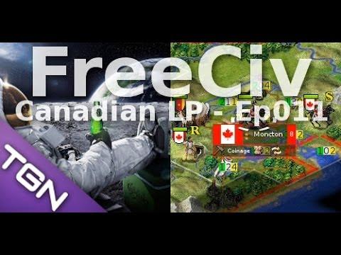 FreeCiv 2.4.0 [SDL Client] Canadian LP - Ep011