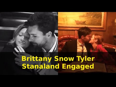Brittany Snow and Fiance Tyler Stanaland is Engaged | Brittany Snow Is Engaged