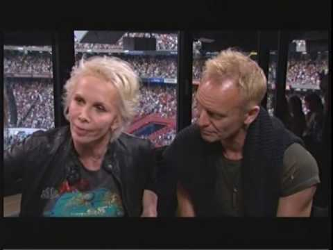 Trudie Styler and Sting's NBC Interview at Live Earth