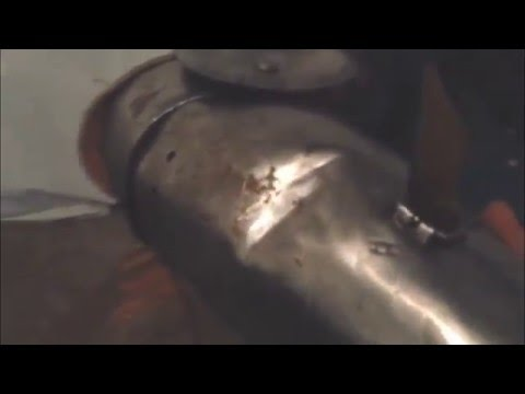 Test titanium (VT-6) 1.2mm splinted brig arms vs mild steel 1,5mm.