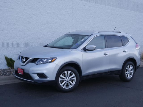 2014 nissan rogue awd 4dr sv for sale in coon rapids youtube. Black Bedroom Furniture Sets. Home Design Ideas