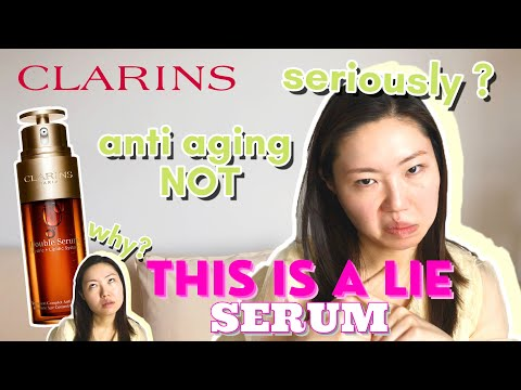 Double Serum Honest Review   Yay or Nah?   Clarins BEST Serum?