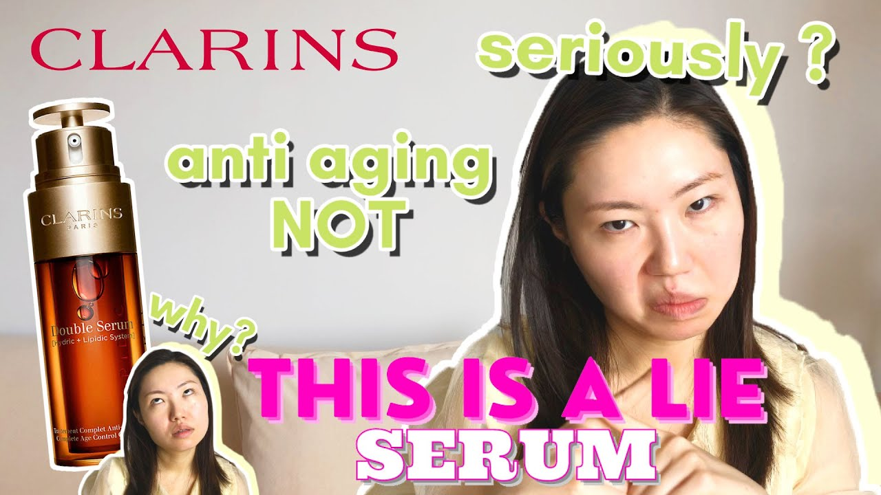 Double Serum Honest Review | Yay or Nah? | Clarins BEST Serum?