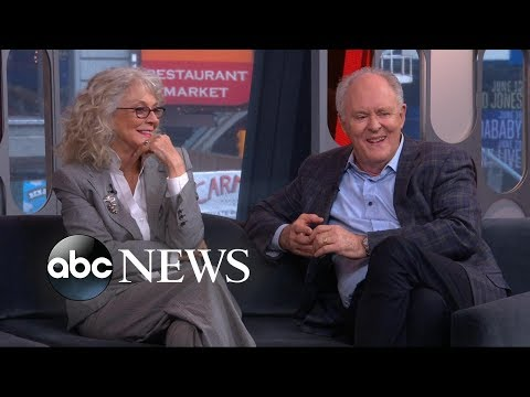 WATCH: John Lithgow and Blythe Danner Talk New Film and Disastrous Broadway Moments