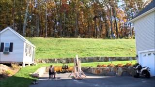 Teradyne Punkin Chunkin Contest - 1st Trebuchet Tests