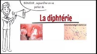Diphtérie ;symptômes,origines,facteurs de risque ;Prévention et traitement