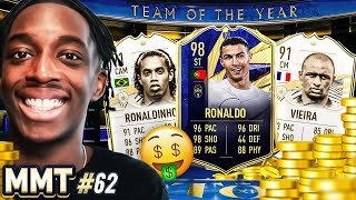 12 MILLION COINS SPENT! TOTY RONALDO ARRIVES!!!🤑🤑💰💰S2- MMT #62