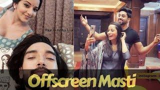 Nazar serial Actress Latest offscreen Masti || Mona Lisa || Harsh Rajput || Niyati Fatnani