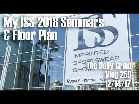 My ISS 2018 Seminars & Floor Plan (Vlog 250)